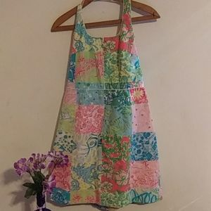 🌛 Lily Pulitzer Halter Mini Dress
